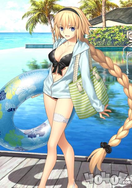 FGO泳装贞德评测,这是一只很强的鲸贞姑