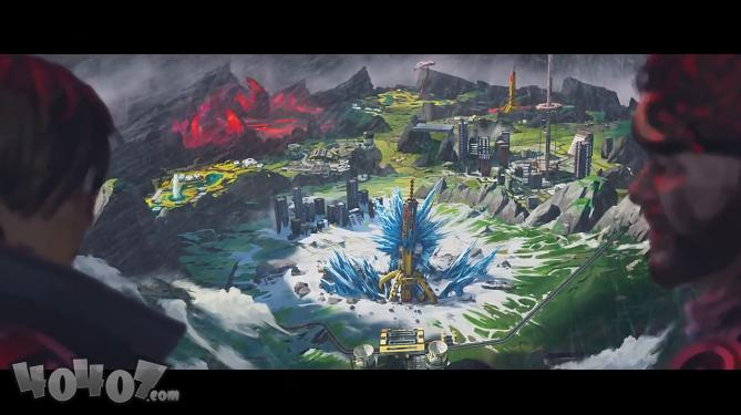 Apex英雄公布新地图!冰与火相融的全新星球