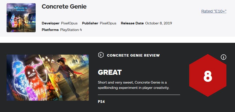 壁中精灵正式发售 首日即获得IGN高分8分好评