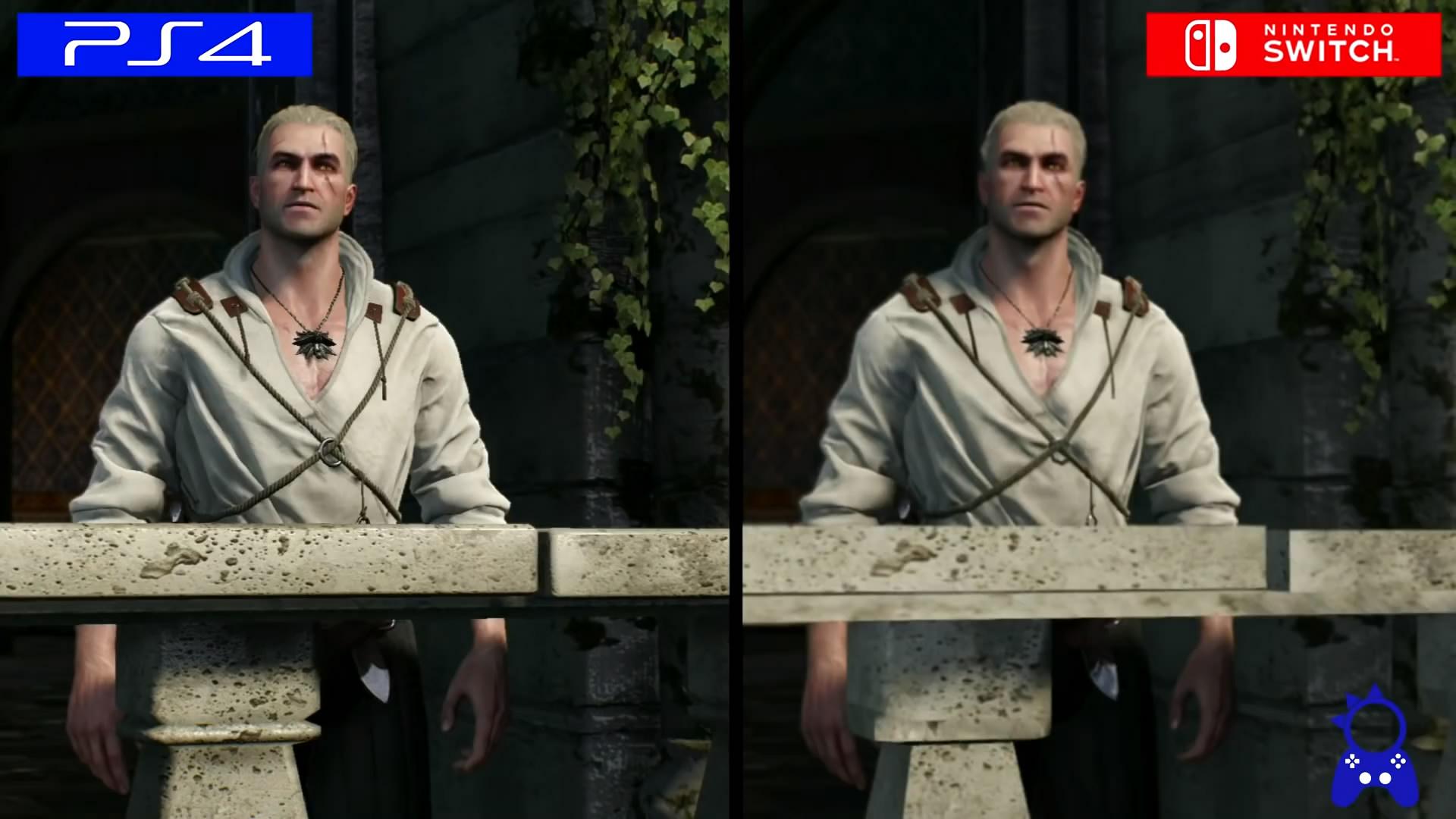 巫師3 NS版與PS4版畫面對比 運行流暢幀數穩定 畫面差距不大