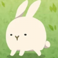 可爱超载的兔子