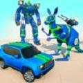 袋鼠机器人汽车变换