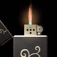 模拟玩具打火机