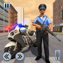 警察摩托追逐战