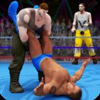 世界拳击手摔跤比赛