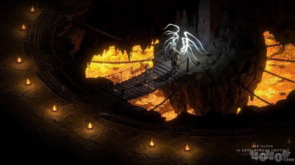《暗黑2重制版》首轮测试今日开启,参与话题免费赢游戏激活码