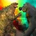 巨人哥斯拉VS怪兽金刚