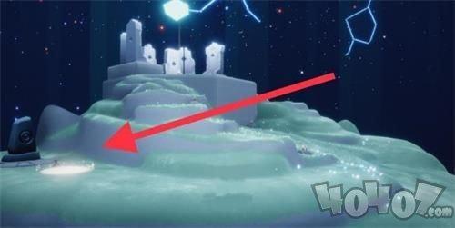 光遇禁阁神坛冥想位置在哪 禁阁神坛冥想点地图坐标