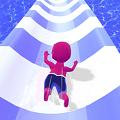 水上乐园超级滑梯